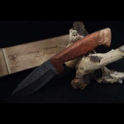 Knives of Lucerne -Red Coolibah Burl